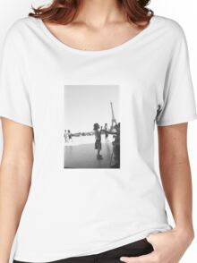 Eiffel Tower. Paris. France. Ice Cream ® Women's Relaxed Fit T-Shirt