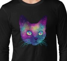 Galactic Cat Long Sleeve T-Shirt