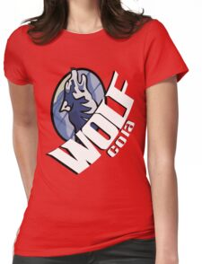 Wolf Cola Womens Fitted T-Shirt