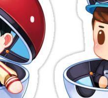 Plushie! Dan and Phil Pokemon Go (Pokeball) Sticker