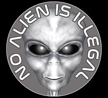 No Alien Is Illegal by Mythos57