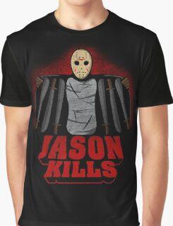 Jason kills Graphic T-Shirt