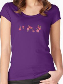 Pilgrim Rose Garden Women's Fitted Scoop T-Shirt
