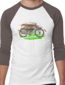 Bike - Bicycles - Rideable Art Men's Baseball ¾ T-Shirt