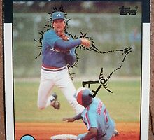 184 - Paul Runge by Foob's Baseball Cards