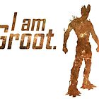 I Am Groot by debaroohoo