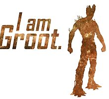 I Am Groot by debaroohoo
