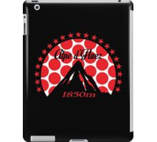 Alpe d'Huez (Red Polka Dot) iPad Case/Skin