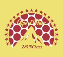 Alpe d'Huez (Red Polka Dot) One Piece - Short Sleeve