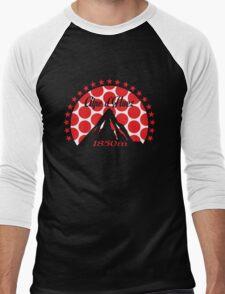 Alpe d'Huez (Red Polka Dot) Men's Baseball ¾ T-Shirt