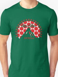 Alpe d'Huez (Red Polka Dot) Unisex T-Shirt