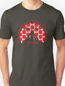 Alpe d'Huez (Red Polka Dot) Unisex T-Shirt