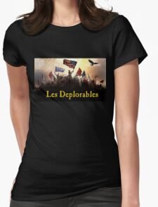Les Deplorables Design Womens Fitted T-Shirt