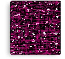 Magenta abstraction Canvas Print