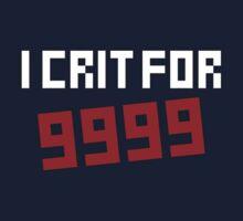 I Crit for 9999 by Warren Evans