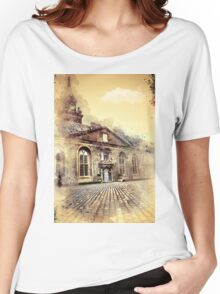 Lonely Man Walking Women's Relaxed Fit T-Shirt