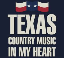 Texas country music Kids Tee