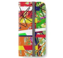 Colorful abstraction by Moma iPhone Wallet/Case/Skin