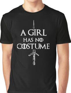 A Girl Has No Name Design Graphic T-Shirt