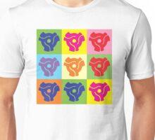45 Record Holder Pop Art 2 Unisex T-Shirt