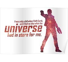 I Had No Idea What the Universe Had in Store for Me Poster