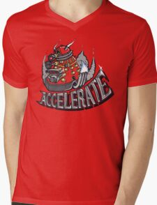 V8 ACCELERATE Mens V-Neck T-Shirt