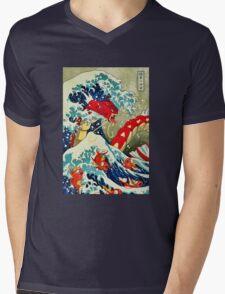Gyarados pokemon Mens V-Neck T-Shirt