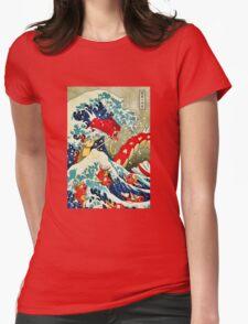 Gyarados pokemon Womens Fitted T-Shirt