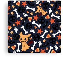 Mimikyu's Spooky Halloween! Canvas Print