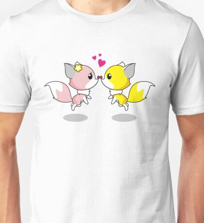 Foxes in Love Unisex T-Shirt