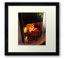 Fire, Fire, Burning Bright! Framed Print