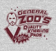 Superman General Zod Kneeling Pads Krypton by DeepFriedArt