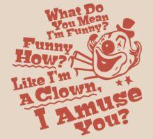 Funny Like A Clown Goodfellas Mobster Godfather by DeepFriedArt