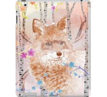 The fox in the forest iPad Case/Skin