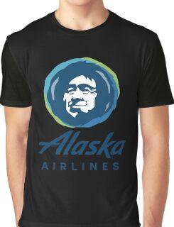 Alaska Airlines Graphic T-Shirt
