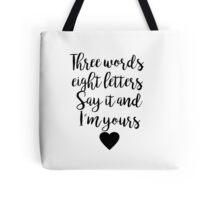Gossip Girl - Three Words Tote Bag