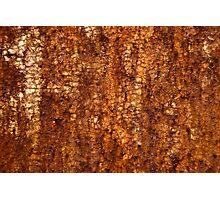 Rust Texture Photographic Print