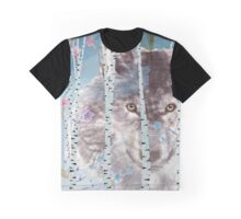 The wolf in the forest Graphic T-Shirt
