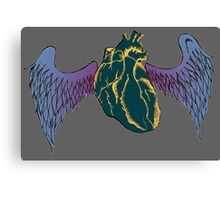 Wings of Your Heart Canvas Print