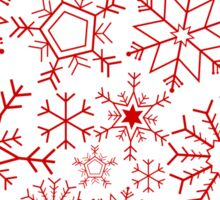 Christmas snowflakes Sticker