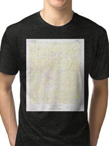 USGS TOPO Map Arkansas AR Mount Holly 259141 1962 24000 Tri-blend T-Shirt