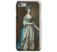 MRS. WILLIAM VILLEBOIS  TH. GAINSBOROUGH. iPhone Case/Skin