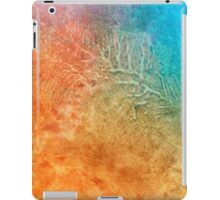 Sand And Sea abstract art iPad Case/Skin