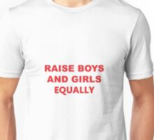 boys and girls equally Unisex T-Shirt