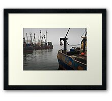 New Bedford Waterfront II Framed Print