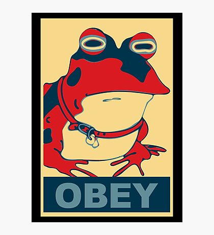 All Obey The Hypnotoad! Photographic Print