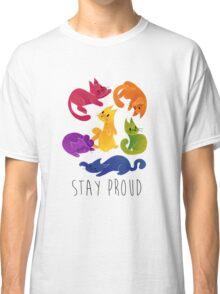 LGBT+ PRIDE CATS Classic T-Shirt