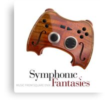 Symphonic Fantasies (Game Soundtrack Orchestra) Canvas Print