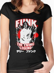Terry Funk T - Shirt v3 Women's Fitted Scoop T-Shirt