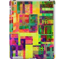 Extreme Color abstract art iPad Case/Skin